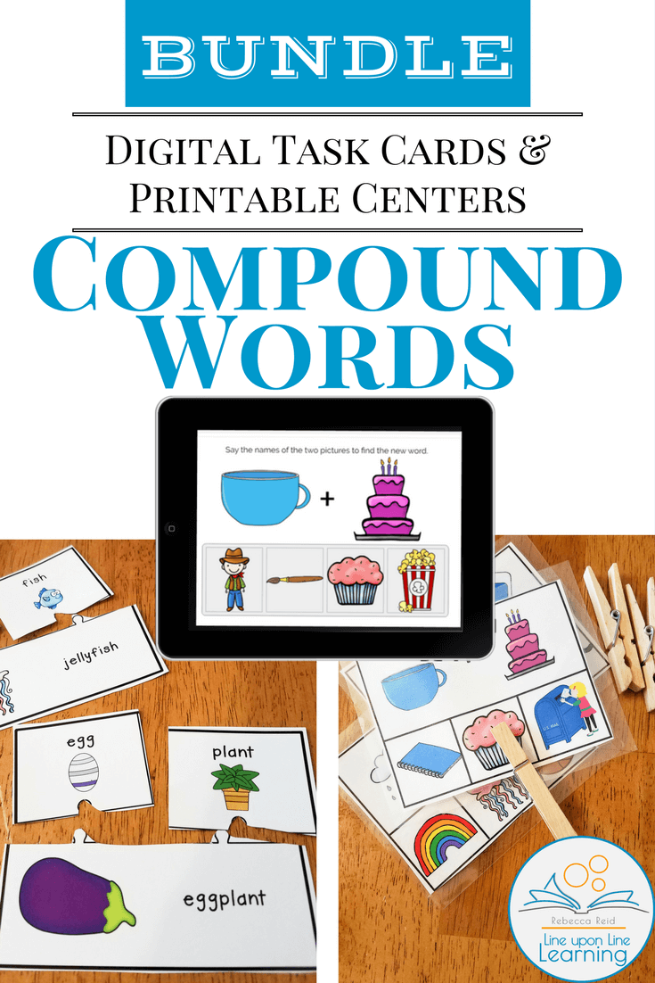 Compound Word Digital & Print Bundle