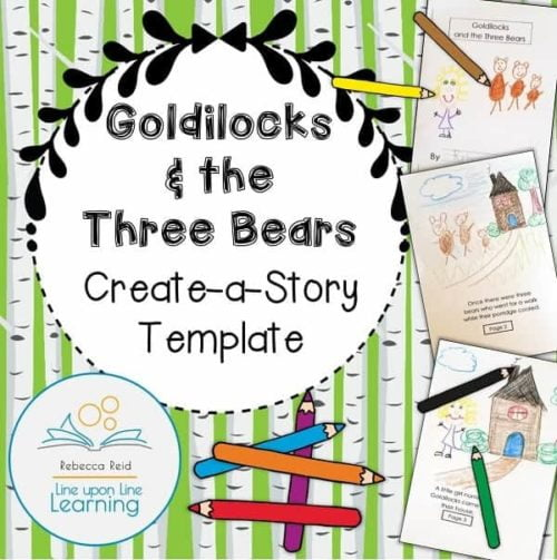 Goldilocks Create a Story COVER