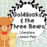 Goldilocks Lesson plans COVER
