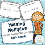 MISSING MULTIPLES misisng number skip counting cover