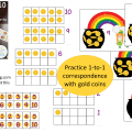 Pot of Gold Ten Frames Counting DEMO