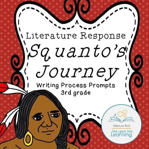 Thanksgiving Writing-3rd grade Squanto--COVER