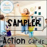action cards -- SAMPLER Cover