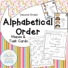 alphabetical order COVER