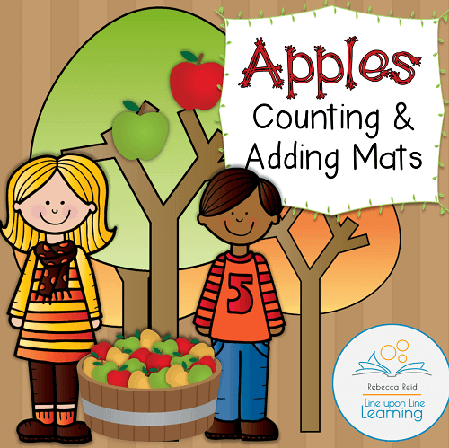 apple math mats COVER