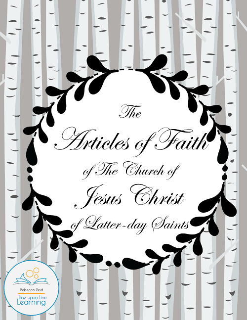 articles of faith COVER