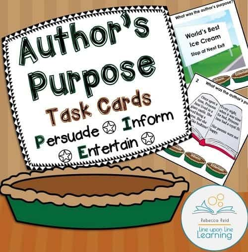 authors purpose PIE COVER
