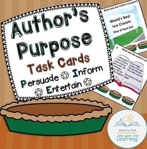 authors purpose PIE COVER