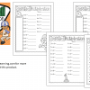 baseball multiplication printable pages DEMO