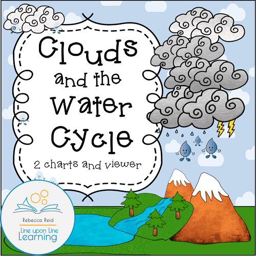 clouds and the water cycle charts and viewer COVER