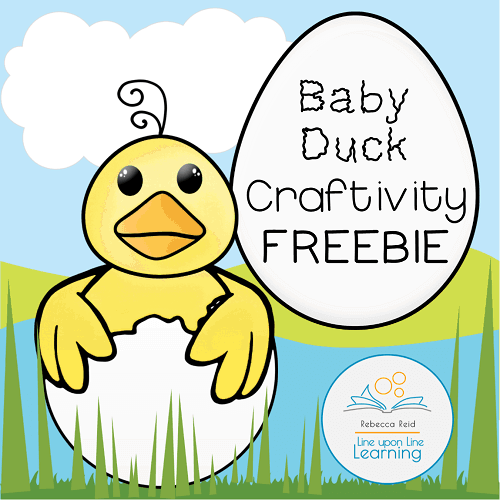 Baby Duck Craftivity Printable
