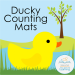 ducky counting mats COVER
