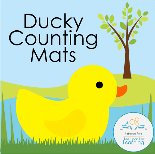 Ducky Counting Mats