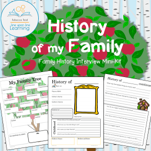 family history interview pages