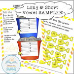 reading fundamentals long Short Vowels sampler cover