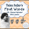 helen keller first words COVER-sm