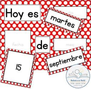 hoy es spanish daily calendar freebie COVER
