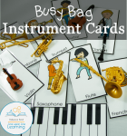 instruments busy bag cards COVER