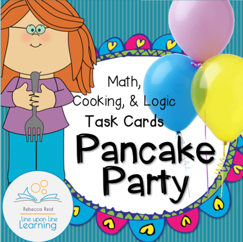 pancake party TASK CARDS cover