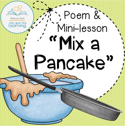 pancake poem cover