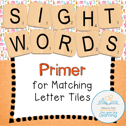primer sight words templates COVER