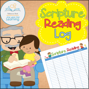 Summer Scripture Reading Log