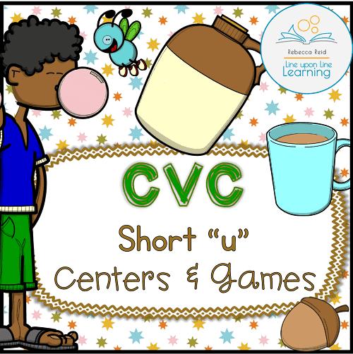 short u activities COVER