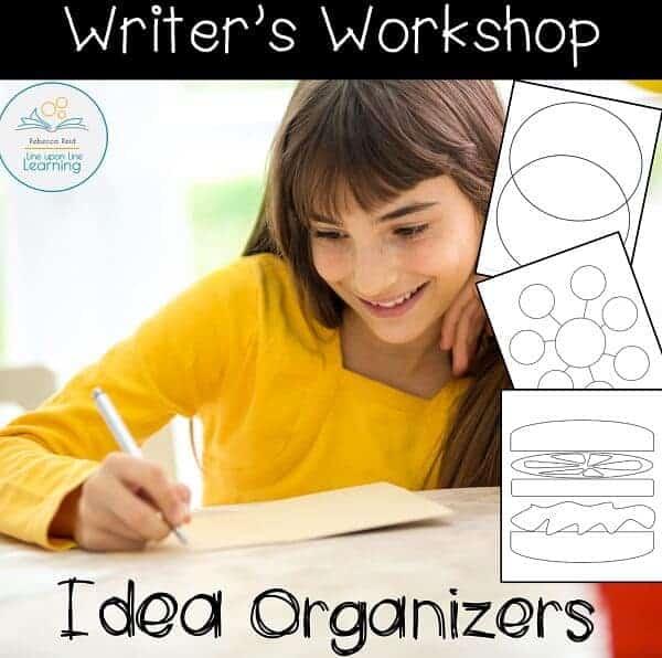 writing idea organizers COVER2