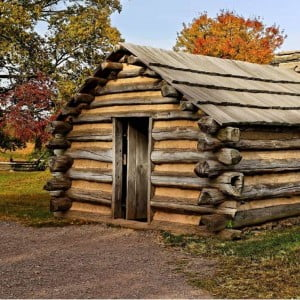 The American Patriot soldiers faced harsh living conditions at Valley Forge. Eventually George Washington was able to get his army to function well.