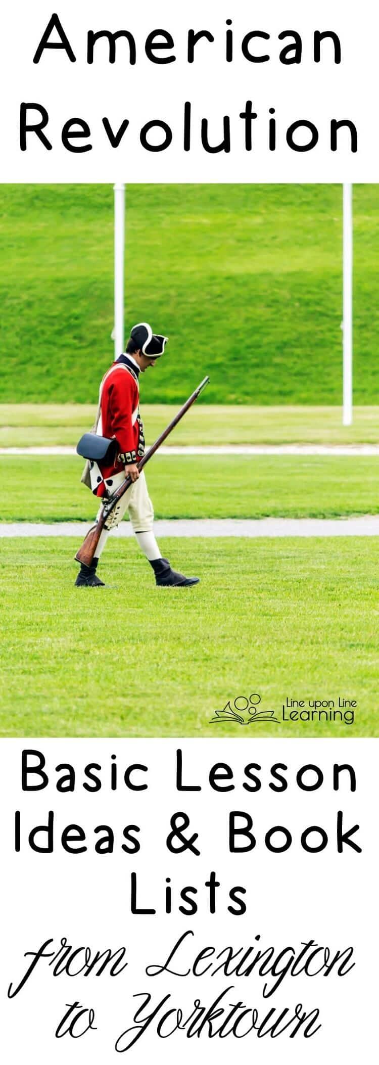 The American Revolutionary War began with the anonymous shots at Lexington Green and finally ended at Yorktown, when General Cornwallis surrendered for the British.