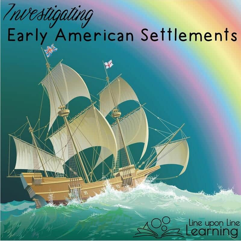 Early American settlements (Roanoke, Jamestown, Plymouth) invite questions: why did people come settle? What struggles did they face? Conduct an investigation with your students!