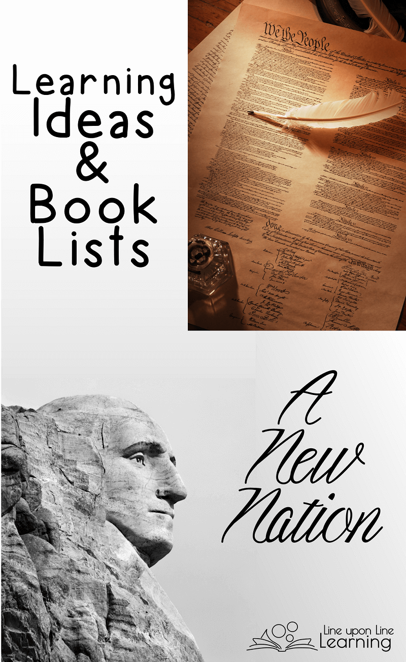 "Learn about George Washington's role in the founding of the new nation, the United States of America with hands-on learning ideas and great ""living"" books."