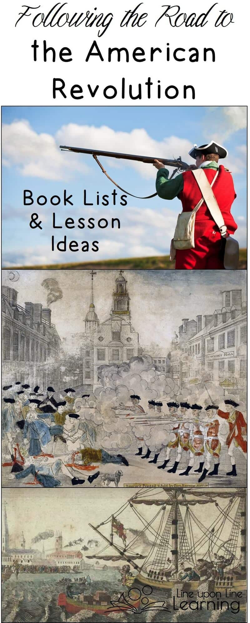 Understanding some key events (French and Indian War, Boston Massacre, Boston Tea Party) helps students understand the reasons for the American Revolution from Great Britain.