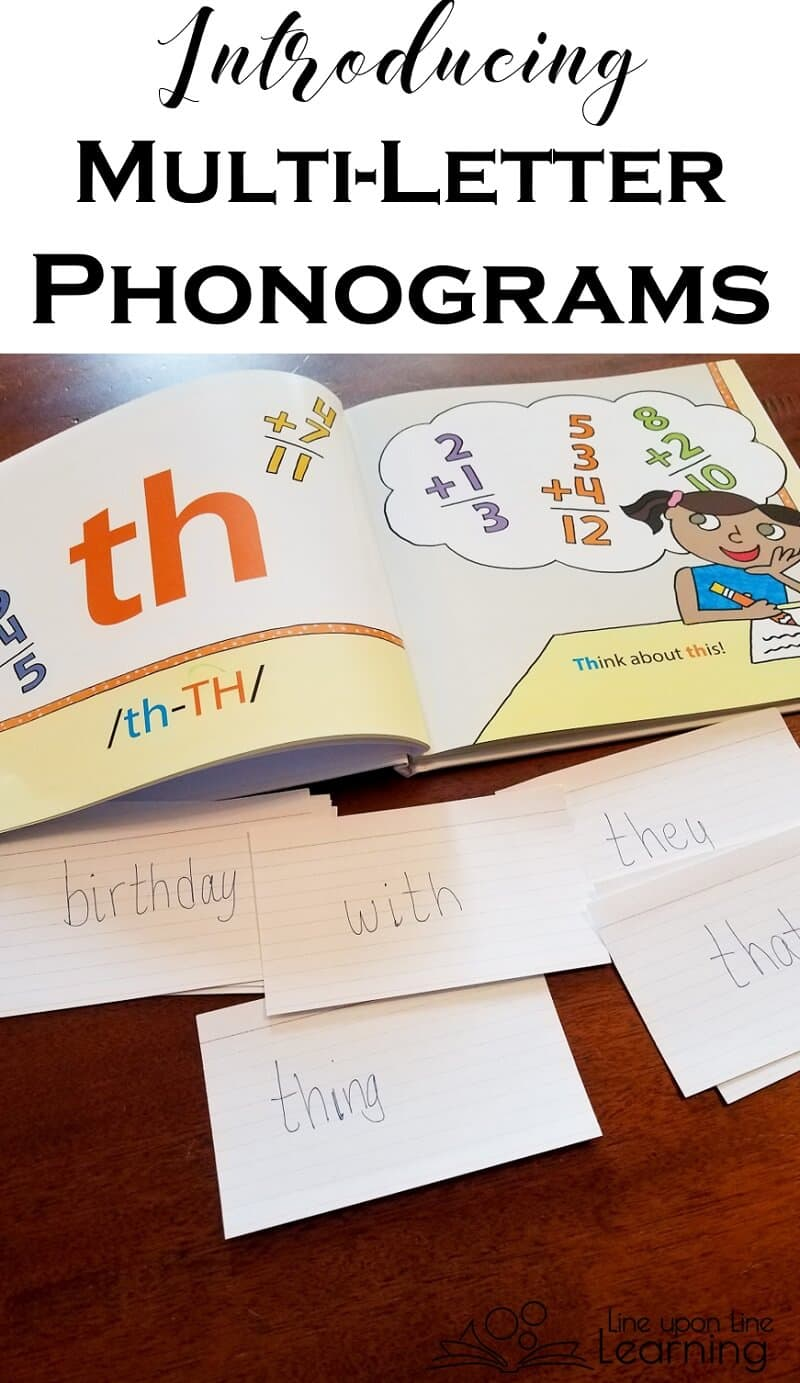 We learn all the sounds of digraphs and multi-letter phonograms as we read a memorable picture book for the Logic of English Foundations program.