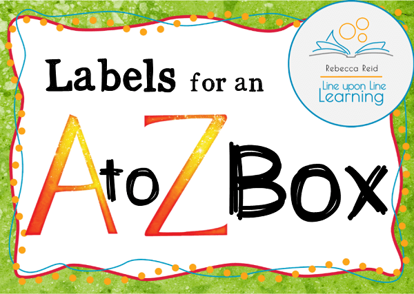 alphabet labels COVER