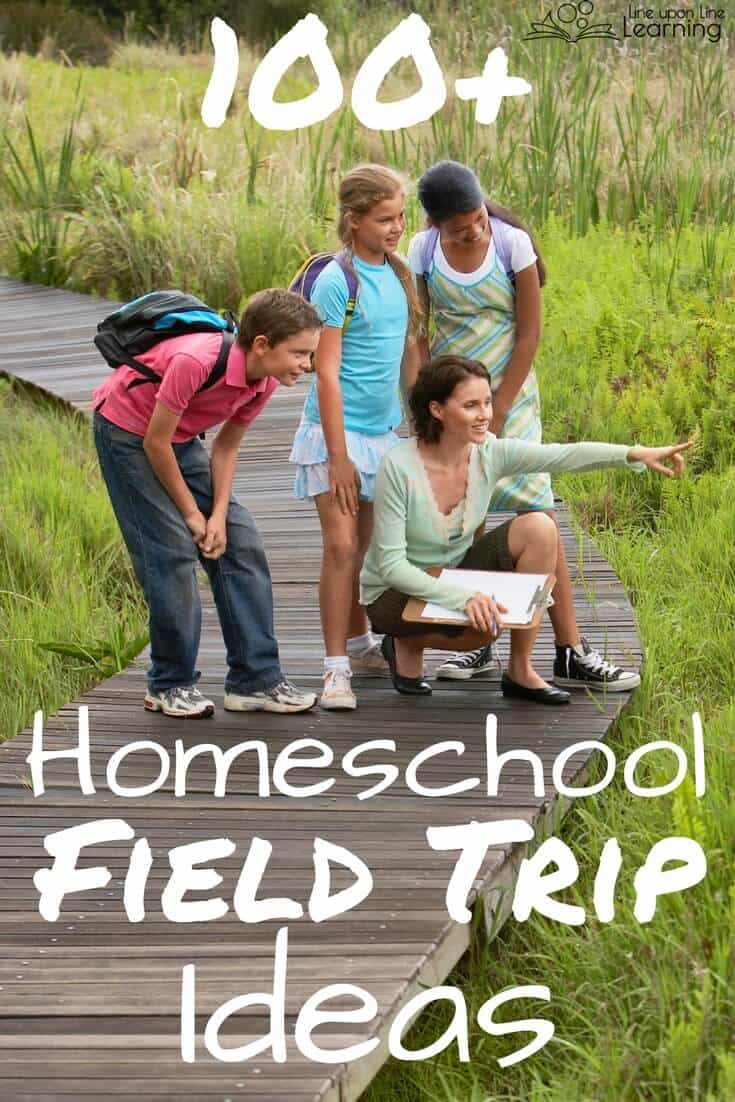 Homeschool field trips are fun and easy to add in to your days. In fact some of our best learning days come from a more casual homeschool field trip! Even running errands can become a field trip.