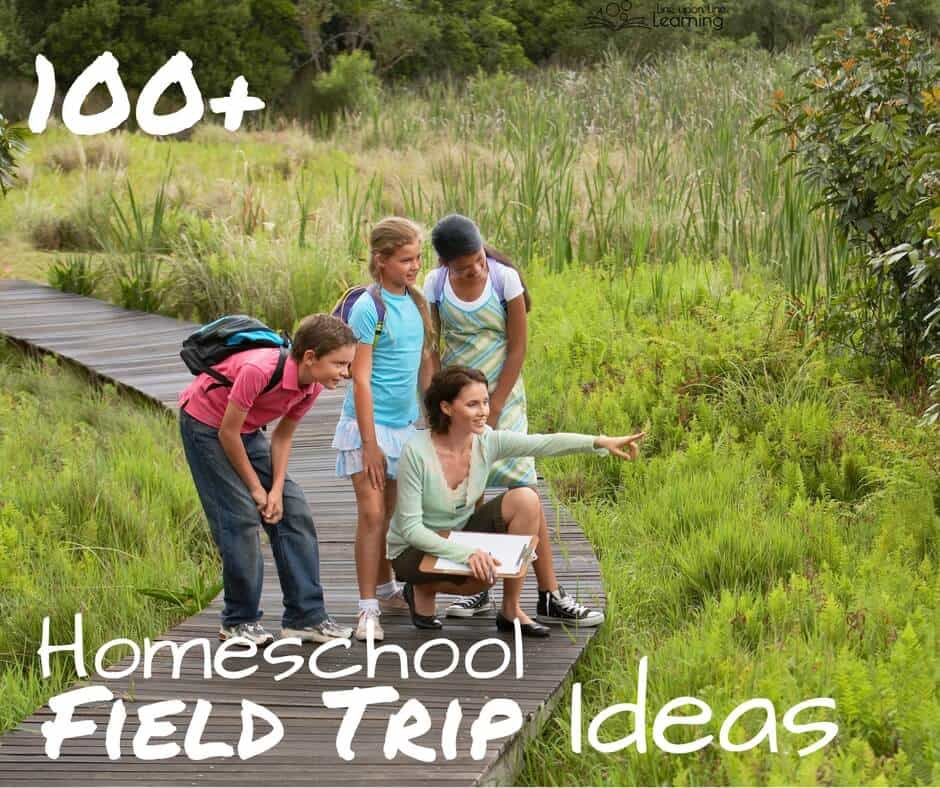Check out this list of 100+ homeschool field trip ideas.