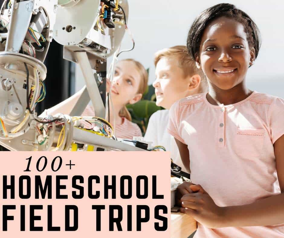 Homeschool field trips can take you to STEM careers to learn about robotics, engineering, and so forth!