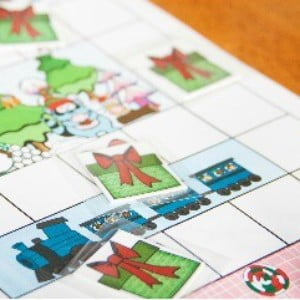 North Pole Mix-Up Printable Christmas Game