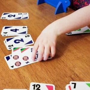 SkipBo for Kindergarten Math Learning