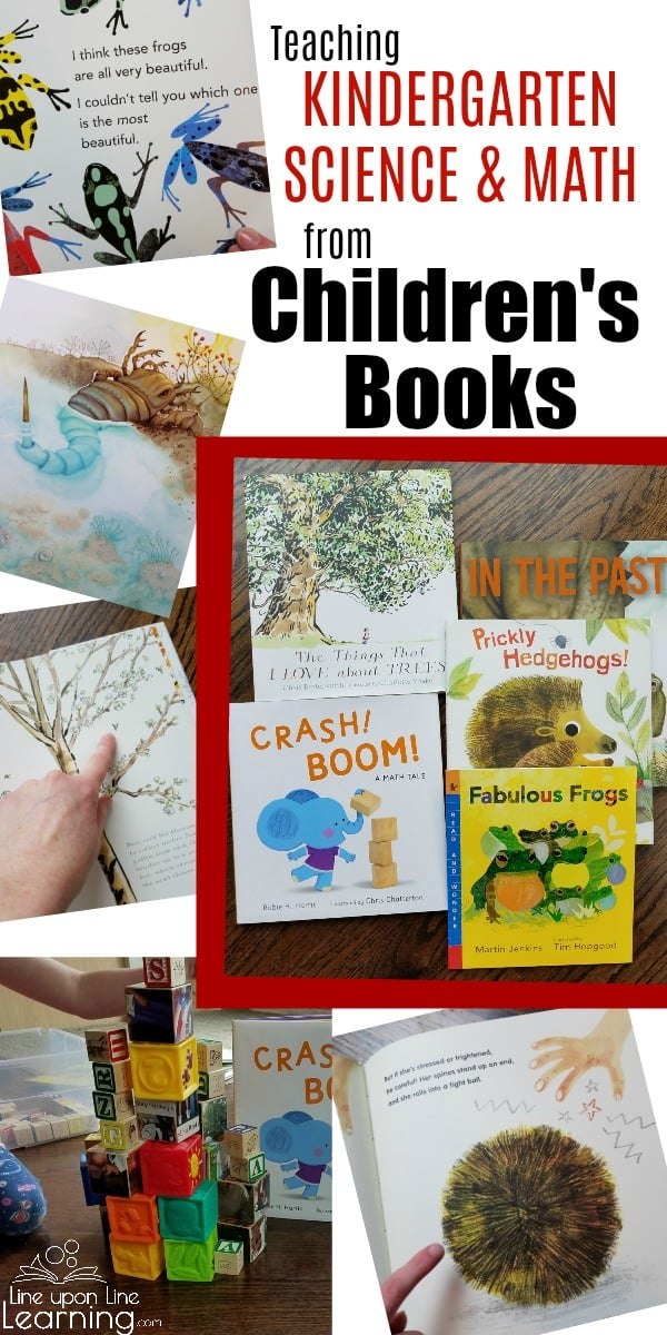 With quality children's books, it's easy to create a kindergarten homeschool science and math curriculum. These Candlewick picture books have really helped me teach my kindergartner with fun activities, all with little planning time required.