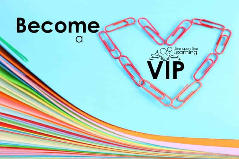 Become a Line upon Line Learning VIP.