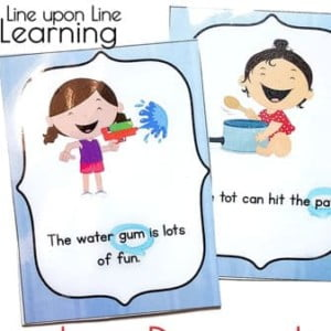Silly Sentences Funny Early Reading Practice