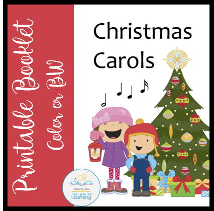 photograph relating to Printable Christmas Carols Booklet referred to as Xmas Carols Booklet