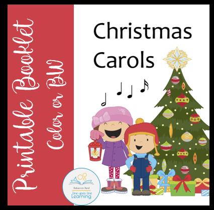 graphic regarding Printable Christmas Carols Booklet known as Xmas Carols Booklet