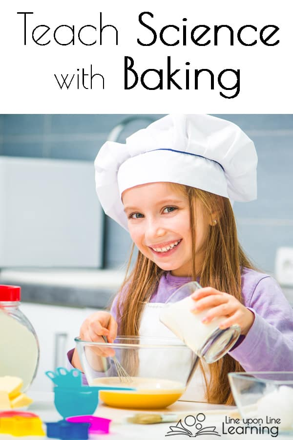 Teaching science to your elementary aged kids using these clever baking activities. So much fun to do science in your own kitchen and eat your results!