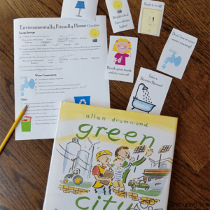 Making Your Home Environmentally Friendly: Picture-Book Inspired STEM