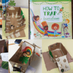 The leprechaun traps STEM challenge is seasonal way to practice building things and learning from design mistakes. Inspired by the book How to Trap a Leprechaun.