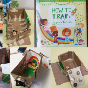 Design a Leprechaun Trap: Picture Book STEAM Challenge