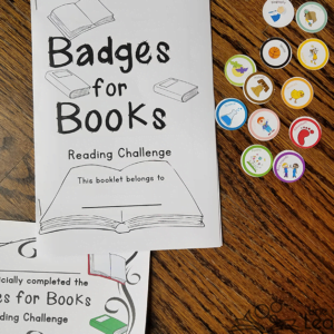 Encourage a Variety of Books with Badges for Books Challenge